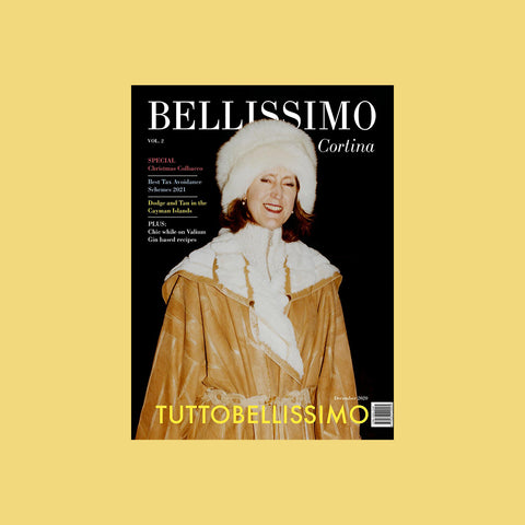 Bellissimo Magazine Issue 2 – Cortina – buy at GUDBERG NERGER Shop
