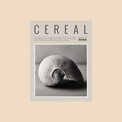 Cereal Volume 20 – buy at GUDBERG NERGER Shop