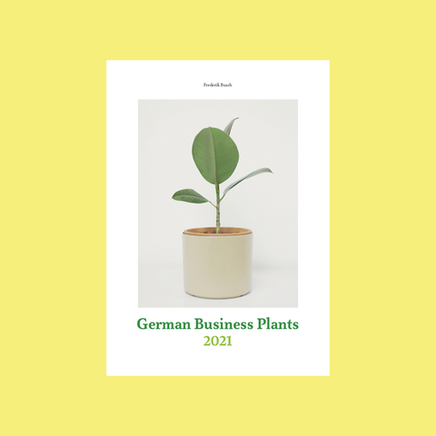 Frederik Busch – German Business Plants 2021 Calendar – GUDBERG NERGER