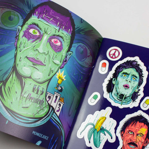 Monkeejuice Stickermag – GUDBERG NERGER Shop