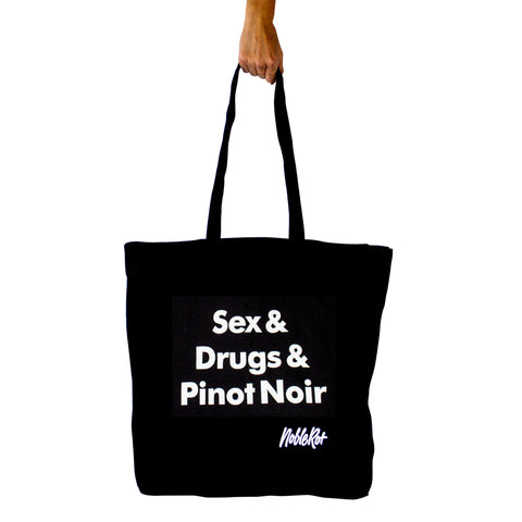 Sex & Drugs & Pinot Noir Tote Bag by Noble Rot – GUDBERG NERGER