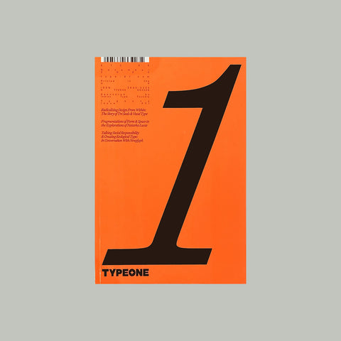 TYPEONE Magazine Issue 01 – GUDBERG NERGER Shop
