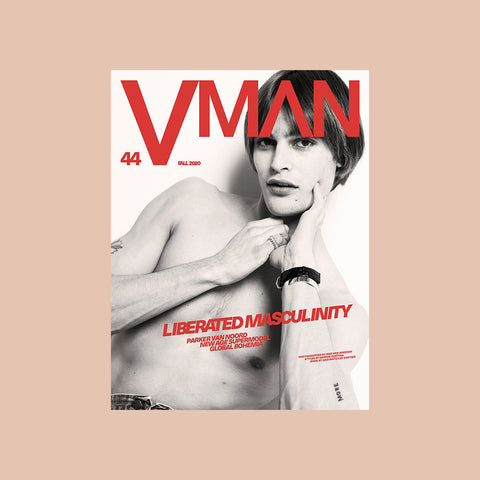 VMAN Issue 44 – LIBERATED MASCULINITY – buy at GUDBERG NERGER