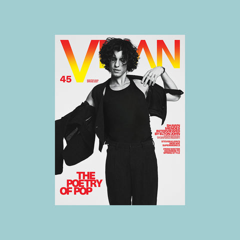 VMAN Issue 45 – THE POETRY OF POP – buy at GUDBERG NERGER