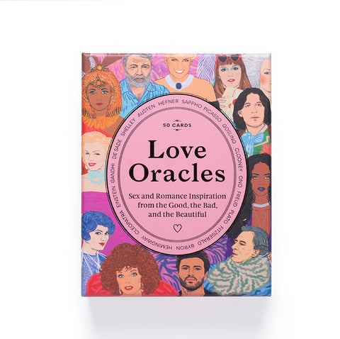 Love Oracles – Set of 50 illustrated cards – GUDBERG NERGER