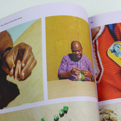 Sandwich Magazine No. 4 – The African Scramble – buy at GUDBERG NERGER