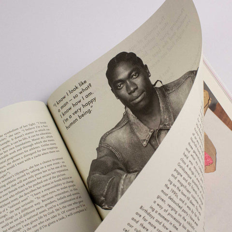 The Gentlewoman Issue 21 – Caster Semenya – buy at GUDBERG NERGER Shop