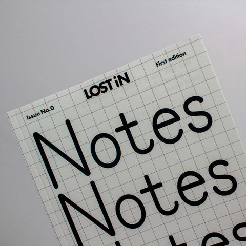 LOST iN Notes – Notebook – GUDBERG NERGER