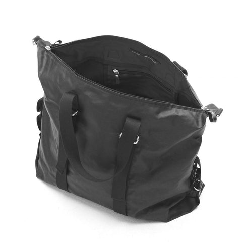 QWSTION Simple Holdall – Organic Jet Black – GUDBERG NERGER