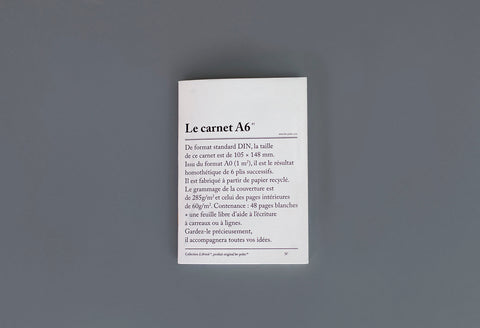 Le Carnet A6 – Set of 3 Notebooks