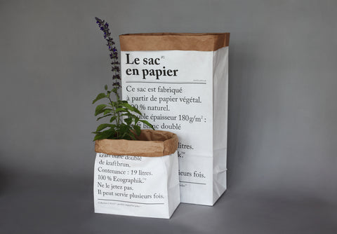 Le petit sac en papier / The little paper bag