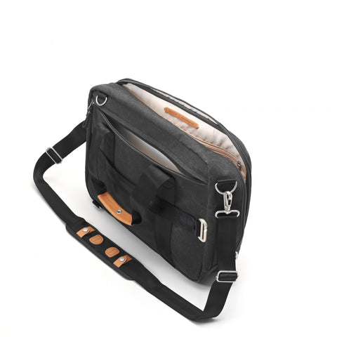 QWSTION Office Bag - Washed Black – buy at GUDBERG NERGER Shop