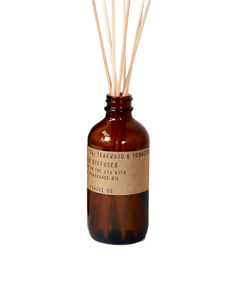 Teakwood & Tobacco Reed Diffuser - shop at GUDBERG NERGER