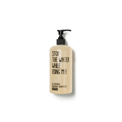All Natural Rosemary Grapefruit Shampoo