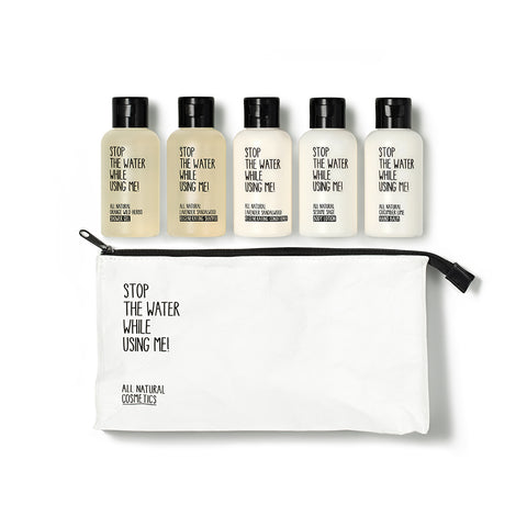 All Natural Cosmetics Travel Kit