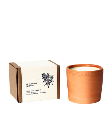 Soy Candle Rosemary - shop at GUDBERG NERGER