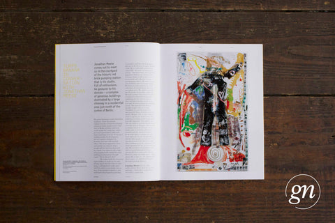 Turps Painting Magazine Issue 18 – with Jonathan Meese Cover
