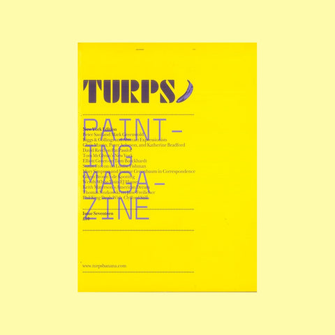 Turps Painting Magazine Issue 17