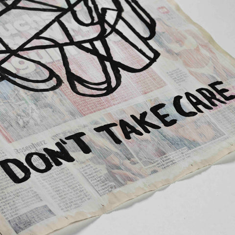 Uwe Lewitzky – Don't take care, 2018