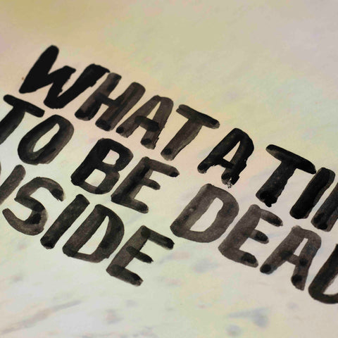 Uwe Lewitzky – What a time to be dead inside