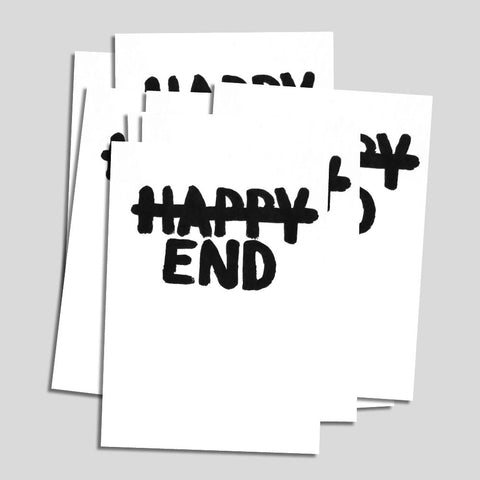 "Uwe Lewitzky Postcard – ""Happy End"""