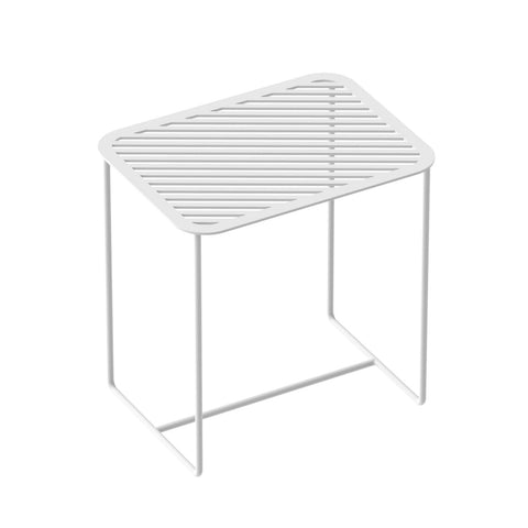 Grid 02 Side Table – White – buy at GUDBERG NERGER Shop
