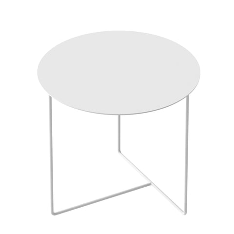 Solid 01 Side Table – White – buy at GUDBERG NERGER Shop