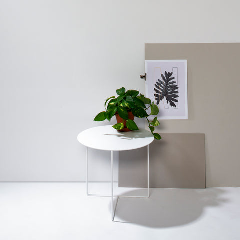 Solid 01 Side Table – White