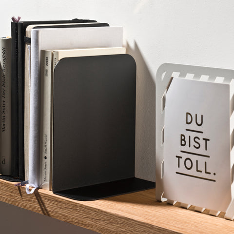 Solid 01 Bookend – Black – buy at GUDBERG NERGER Shop