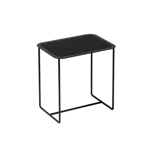 Grid 02 Side Table – Black – buy at GUDBERG NERGER Shop