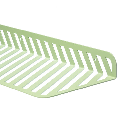Grid 01 Wall Shelf – Pastel Green – buy at GUDBERG NERGER Shop
