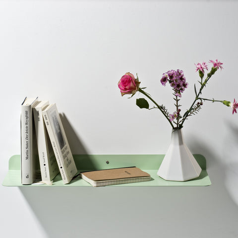 Solid 01 Wall Shelf – Pastel Green – buy at GUDBERG NERGER Shop
