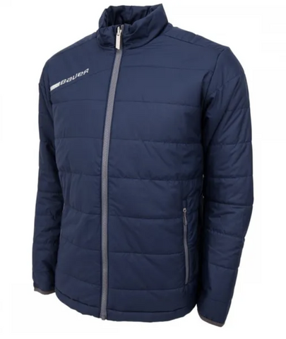 Bauer Flex Bubble Jacket - Senior Navy