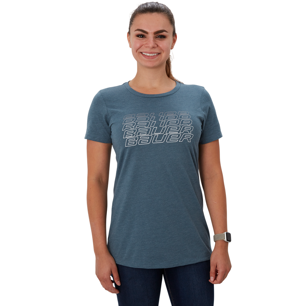 FADE SHORT SLEEVE WOMEN'S T-SHIRT MEDIUM