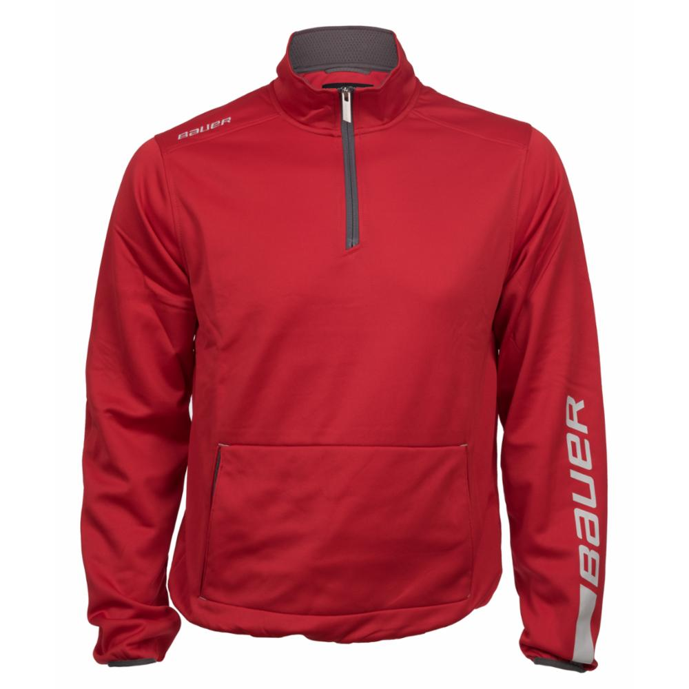 BAUER EU Team Jogging Top - Red - Senior XXL