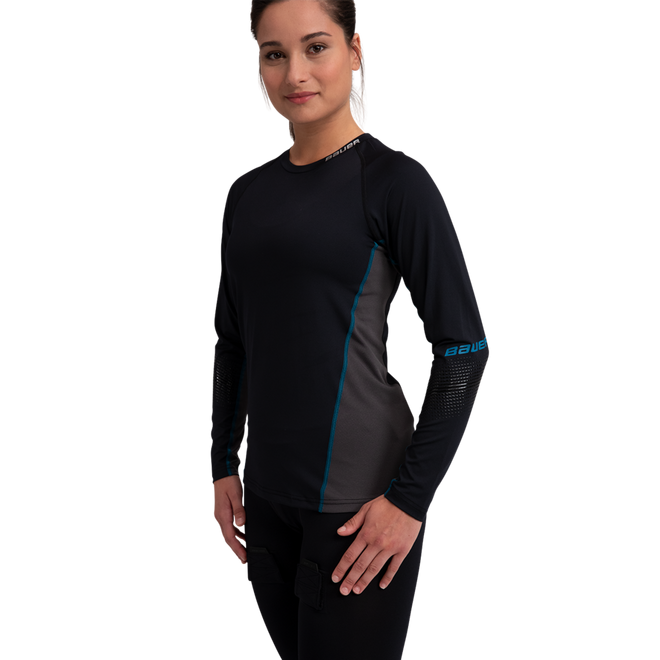 WOMEN'S LONG SLEEVE BASE LAYER TOP - MEDIUM