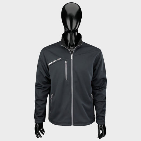Bauer Flex Full Zip Tech Fleece (Senior) - Black