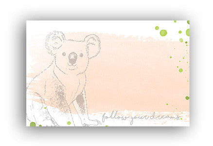 Koala Address label|Koala Adressticker