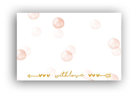 With love Address label|With love Adressticker