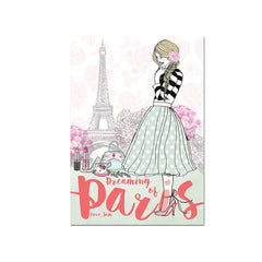 Dreaming of Paris Art print|Dreaming of Paris Art print