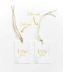 Happy Bday heart Gift tag|Happy Bday heart Cadeaulabel