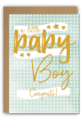 Baby boy Greeting card|Baby boy Wenskaart