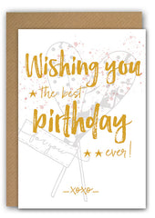 Whishing you Bday Greeting card|Whishing you Wenskaart
