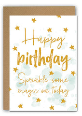 Magic Bday Greeting card|Magic Bday Wenskaart