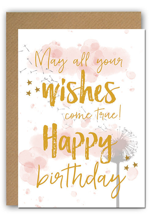 May all your wishes ... Bday Greeting card|May all your wishes ... Bday Wenskaart