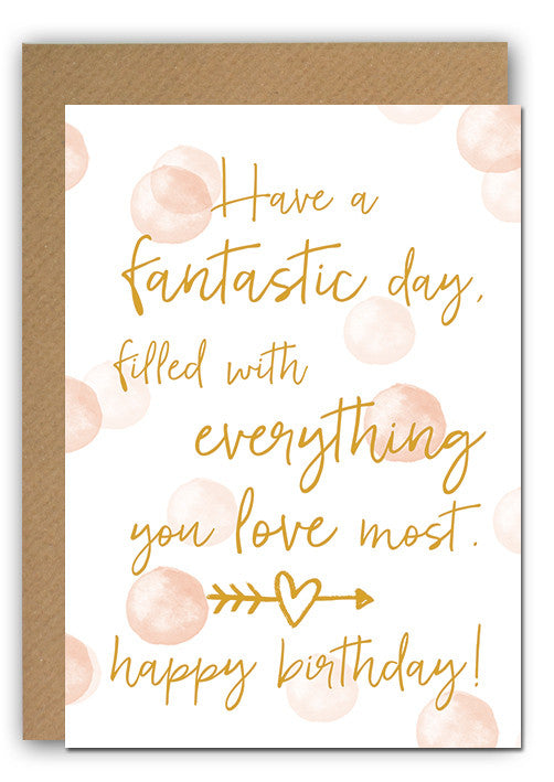 Fantastic Bday Greeting card|Fantastic Bday Wenskaart