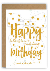 Lots of love Bday Greeting card|Lots of love Bday Wenskaart