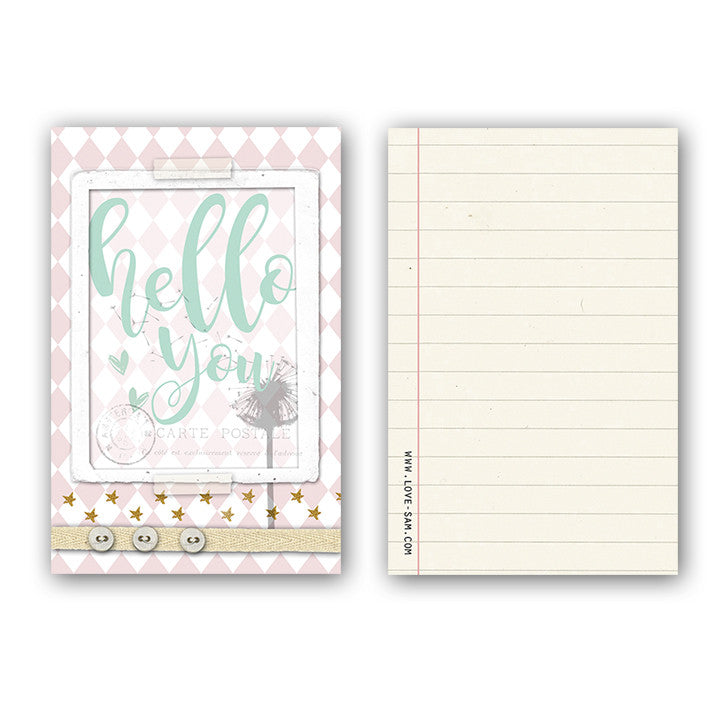 Hello you Gift tag|Hello you Cadeaulabel