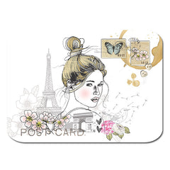 Paris girl Postcard|Paris girl Postkaart
