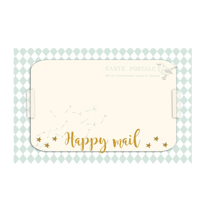 Happy mail Address label|Happy mail Adressticker